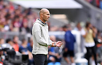 Fussball International Audi Cup 2019   Saison 2019/2020   31.07.2019 Spiel um Platz 3 Real Madrid - Fenerbahce Istanbul Trainer Zinedine Zidane (Real Madrid)