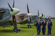 Duxford Battle of Britain Air Show taking place during IWM (Imperial War Museum) Duxford's centenary year. Duxford's principle role as a Second World War fighter station is celebrated at the Battle of Britain Air Show by more than 40 historic aircraft taking to the skies.