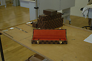 Visit to the Louis Vuitton home, headquarters and workshop, Paris.  24 January  2006.  ONE TIME USE ONLY - DO NOT ARCHIVE  © Copyright Photograph by Dafydd Jones 66 Stockwell Park Rd. London SW9 0DA Tel 020 7733 0108 www.dafjones.com