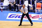 DESCRIZIONE : Brindisi  Lega A 2015-15 Enel Brindisi Dolomiti Energia Trento<br /> GIOCATORE : Piero Bucchi<br /> CATEGORIA : Allenatore Coach Mani<br /> SQUADRA : Enel Brindisi<br /> EVENTO : Lega A 2015-2016<br /> GARA :Enel Brindisi Dolomiti Energia Trento<br /> DATA : 25/10/2015<br /> SPORT : Pallacanestro<br /> AUTORE : Agenzia Ciamillo-Castoria/D.Matera<br /> Galleria : Lega Basket A 2015-2016<br /> Fotonotizia : Enel Brindisi Dolomiti Energia Trento<br /> Predefinita :
