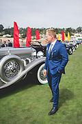 August 22-26, 2018. Monterey Car Week. Mitja Borkert, Lamborghini head of design.