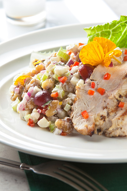 Turkey Waldorf Salad.