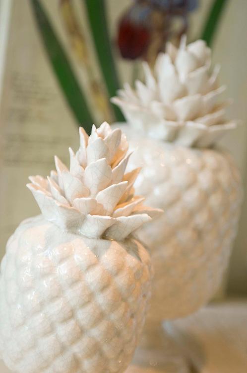 Ceramic pinapple ornaments