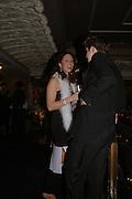 Stephen Corbett and Tessa Grobel. White Knights Ball, Grosvenor House Hotel 7 January 2005. ONE TIME USE ONLY - DO NOT ARCHIVE  © Copyright Photograph by Dafydd Jones 66 Stockwell Park Rd. London SW9 0DA Tel 020 7733 0108 www.dafjones.com
