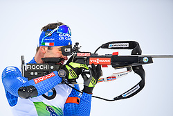 March 16, 2019 - –Stersund, Sweden - 190316 Giuseppe Montello of Italy  competes in the Men's 4x7,5 km Relay during the IBU World Championships Biathlon on March 16, 2019 in Östersund..Photo: Petter Arvidson / BILDBYRÃ…N / kod PA / 92269 (Credit Image: © Petter Arvidson/Bildbyran via ZUMA Press)