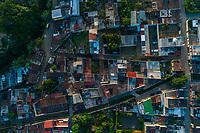 Aerial view of buildiings in Ciudad Vieja, Guatemala on Tuesday, July 24, 2018.