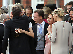 Poppy Delevingne and Geri Halliwell at Poppy Delevingne and James Cook's wedding reception held in Kensington Palace Gardens, London, UK. 16/05/2014<br />BYLINE MUST READ : GOTCHAIMAGES.COM<br /><br />Copyright by © Gotcha Images Ltd. All rights reserved.<br />Usage of this image is conditional upon the acceptance <br />of Gotcha Images Ltd, terms and conditions available at<br />www.gotchaimages.com