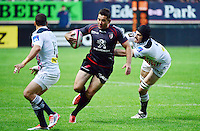 Florian FRITZ / Hugh PYLE - 24.04.2015 - Stade Francais / Stade Toulousain - 23eme journee de Top 14<br />Photo : Dave Winter / Icon Sport