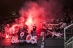 June 22, 2018 - Brussels, BELGIUM - RWDM's supporters pictured during a friendly game, the first of the new season 2018-2019 for Anderlecht, between RWDM and RSC Anderlecht, in Brussels, Friday 22 June 2018. BELGA PHOTO LAURIE DIEFFEMBACQ (Credit Image: © Laurie Dieffembacq/Belga via ZUMA Press)
