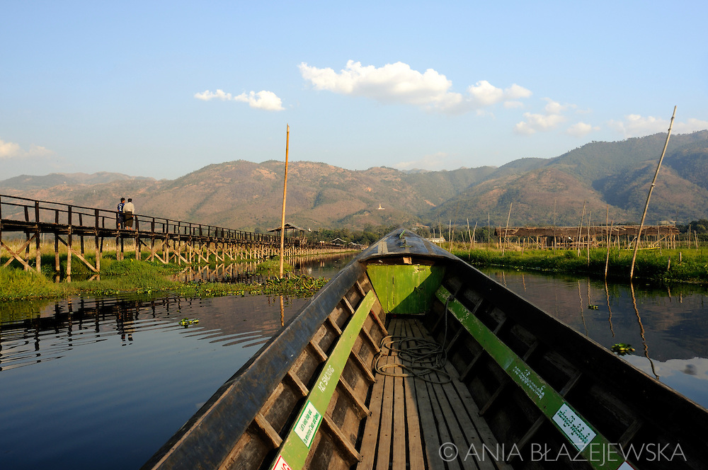 Burma/Myanmar, Inle Lake. Boat trip on Inle Lake.