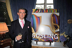 TIM GOSLING at a party to celebrate the publication of Gosling - Classic Design for Contemporary Interiors by Tim Gosling held at William Kent House, The Ritz Hotel, London on 1st October 2009.