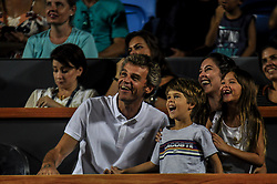 February 23, 2019 - Rio De Janeiro, Brazil - RIO DE JANEIRO, RJ - 23.02.2019: RIO OPEN 2019 - xxxxxxxxxxx during Rio Open 2019 (ATP 500) held at the Jockey Club Brasileiro in Rio de Janeiro, RJ, this Saturday (23) (Credit Image: © Nayra Halm/Fotoarena via ZUMA Press)