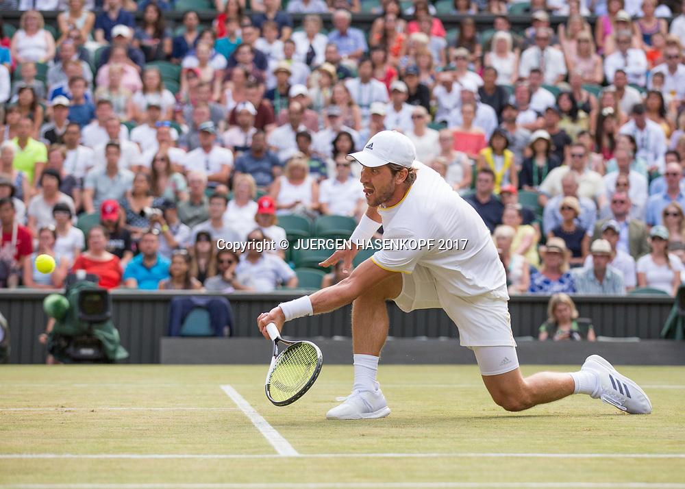 MISCHA ZVEREV (GER)<br /> <br /> Tennis - Wimbledon 2017 - Grand Slam ITF / ATP / WTA -  AELTC - London -  - Great Britain  - 8 July 2017.