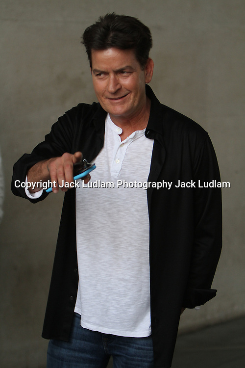CHARLIE SHEEN AT bbc London Uk 16/06/2016<br />