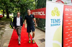 Uros Mesojedec at Petrol VIP tournament 2018, on May 24, 2018 in Sports park Tivoli, Ljubljana, Slovenia. Photo by Vid Ponikvar / Sportida