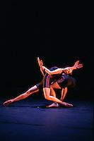 Oxana Panchenko and William Trevitt in William Forsythe's Appoximate Sonata. George Piper Dances.