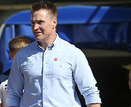 Richard Marshall (Coach) of Halifax RLFC  during the Super 8s The Qualifiers match at Mbi Shay Stadium, Halifax<br /> Picture by Stephen Gaunt/Focus Images Ltd +447904 833202<br /> 02/09/2018