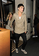 17.JULY.2012. LONDON<br /> <br /> TOM PARKER FROM THE WANTED WEARING VERY DIRTY TRAINERS LEAVING MAHIKI NIGHT CLUB IN MAYFAIR AT 3.00AM WITH A FEW GIRLS LOOKING A LITTLE WORSE FOR WEAR.<br /> <br /> BYLINE: EDBIMAGEARCHIVE.CO.UK<br /> <br /> *THIS IMAGE IS STRICTLY FOR UK NEWSPAPERS AND MAGAZINES ONLY*<br /> *FOR WORLD WIDE SALES AND WEB USE PLEASE CONTACT EDBIMAGEARCHIVE - 0208 954 5968*