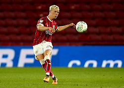 Hordur Magnusson of Bristol City - Mandatory by-line: Robbie Stephenson/JMP - 22/08/2017 - FOOTBALL - Vicarage Road - Watford, England - Watford v Bristol City - Carabao Cup