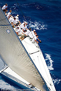 Rambler sailing race 2 at Antigua Sailing Week.