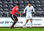 Kenji Gorre of Swansea City in action - Mandatory by-line: Craig Thomas/Replay images - 18/03/2018 - FOOTBALL - Liberty Stadium - Swansea, England - Swansea City U23 v Manchester United U23 - Premier League 2 - Divison 1