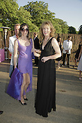 Elizabeth -Peyton-Jones and Julia Peyton-Jones, The Summer Party sponsored by Yves St. Laurent. Serpentine Gallery. 11 July 2006. . ONE TIME USE ONLY - DO NOT ARCHIVE  © Copyright Photograph by Dafydd Jones 66 Stockwell Park Rd. London SW9 0DA Tel 020 7733 0108 www.dafjones.com