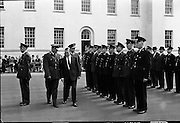 Garda Passing Out Parade and presentation of Scott Medals..04.05.1962