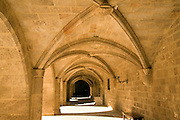 Cloisters, Palace of the Grand Masters, Rhodes, town, Rhodes, Greece