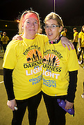 Deirdre Barrow  and Joanne at the Kinvara Darkness into Light walk in Kinvara in aid of Pieta House  :<br />  Photo:Andrew Downes, XPOSURE