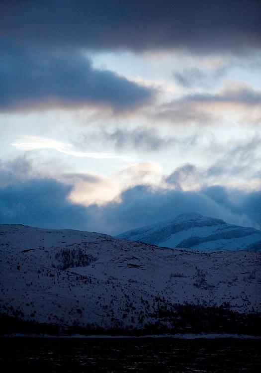 Mountain Landscape, Lofoten, Norway