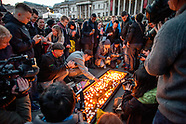 London attack | Trafalgar Square vigil