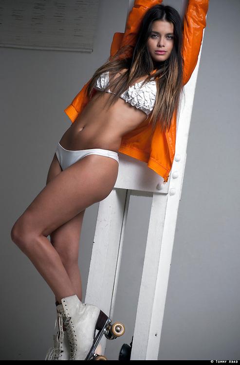 Modelo uruguaya, Victoria Saravia