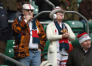 Twickenham, Great Britain, England Fans in the grandstand, Six Nations Rugby England vs France, played at the RFU Stadium, Twickenham, ENGLAND. <br /> <br /> Saturday   21/03/2015<br /> <br /> [Mandatory Credit; Peter Spurrier/Intersport-images]