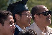 18276Undergraduate Commencement 2007..David Jones with Father, Leonard & Brother, Thomas