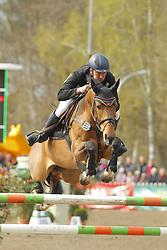 Springen, Caravelle<br /> Bad Schwartau - Springturnier <br /> Grosser Preis von Bad Schwartau<br /> © www.sportfotos-lafrentz.de/Stefan Lafrentz