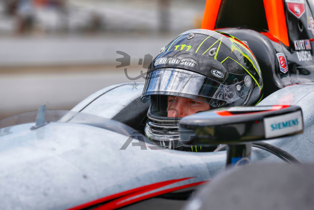 indianapolis, IN - May 16, 2014:  Kurt Busch (26) practices the Suretone Honda during a practice session for the Indianapolis 500 at Indianapolis Motor Speedway in indianapolis, IN.<br /> <br /> MANDATORY PHOTO CREDIT: Walter G. Arce, Sr. KBI Motorsports/ASPInc