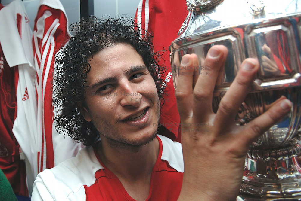 07-05-2006 VOETBAL: FINALE GATORADE CUP: AJAX - PSV: ROTTERDAM<br /> Nourdin Boukhari <br /> &copy;2006-WWW.FOTOHOOGENDOORN.NL