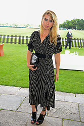 BILLIE PIPER at the Audi International Polo at Guards Polo Windsor Great Park, Egham, Surrey on 28th July 2013.