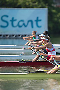 "Rio de Janeiro. BRAZIL. CAN W1X, Carling SEEMEN, Women's Single Quarter Final.   2016 Olympic Rowing Regatta. Lagoa Stadium,<br /> Copacabana,  ""Olympic Summer Games""<br /> Rodrigo de Freitas Lagoon, Lagoa.   Tuesday  09/08/2016 <br /> <br /> [Mandatory Credit; Peter SPURRIER/Intersport Images]"