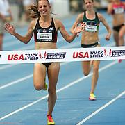SIMPSON - 13USA, Des Moines, Ia. - Jenny Simpson wins the 5,000. Photo by David Peterson