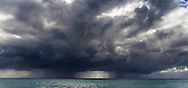Approaching storm, Grand Turk, British Virgin Islands in the Caribbean.<br /> Picture date: Friday January 22, 2016.<br /> Photograph by Christopher Ison &copy;<br /> 07544044177<br /> chris@christopherison.com<br /> www.christopherison.com