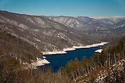 Fontana Lake - North Carolina.