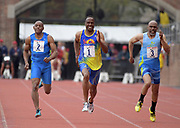 Apr 27, 2018; Philadelphia, PA, USA; during the 124th Penn Relays at Franklin Field.