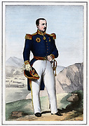 Pierre Francois Joseph Bosquet (1810-1861) French soldier, 1857. Active in the French Algerian campaigns (1834-1852).  In the Crimean War (Russo-Turkish War) (1853-1856) he was at Alma, Inkermann and Sebastapol.  Created Marshal of France (1856).