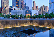 9/11 Memorial and 9/11 Memorial Museum, Memorial designed by Michael Arad, Museum designed by Davis Brody Bond, or DBB, is the lead architect of the belowground Memorial Museum, Manhattan, New York City, New York