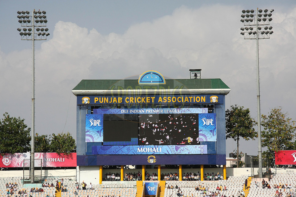 GV during match 9 of the Indian Premier League ( IPL ) Season 4 between the Kings XI Punjab and the Chennai Super Kings held at the PCA stadium in Mohali, Chandigarh, India on the 13th April 2011..Photo by Shaun Roy/BCCI/SPORTZPICS