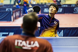 KIM Hyeon Uk of Korea during SPINT 2018 Table Tennis world championship for the Disabled, Day two, on October 18th, 2018, in Dvorana Zlatorog, Celje, Slovenia. . Photo by Grega Valancic / Sportida
