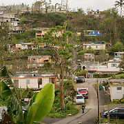 OCTOBER 18 - LARES, PUERTO RICO - <br /> General view of  the Seburuquillo neighborhood in Lares almost one month after the destructive path of hurricane Maria.<br /> (Photo by Angel Valentin for NPR)