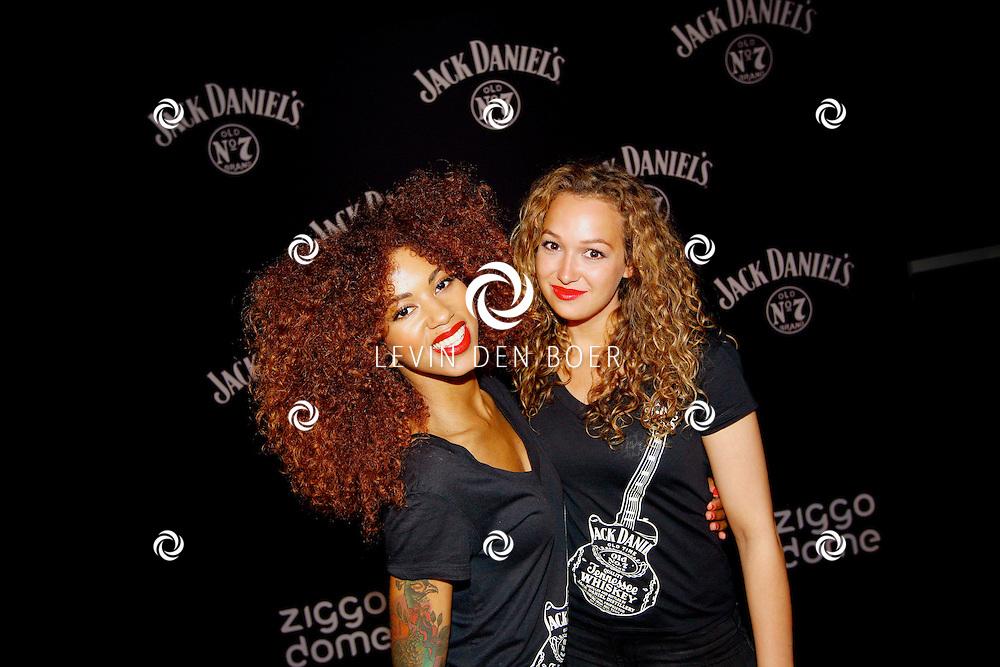 AMSTERDAM - In de Ziggo Dome is de eerste officiële Jack Daniel's bar in Europa geopend. Met op de foto  Jack Daniel's Lady's. FOTO LEVIN DEN BOER - PERSFOTO.NU