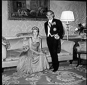 1961-Princess Grace and Prince Rainier of Monaco